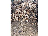 Logs, firewood, hardwood, seasoned