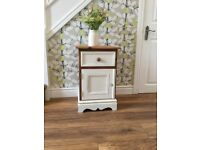 Solid Pine Bedside Cabinet / table / draws