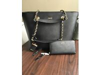 Authentic DKNY bag and purse set