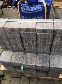 Marshalls tegula grey paving stones