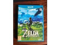 Zelda breath of the wild Wii U