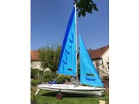 Laser 2 Fun New Wave Sailing Boat for sale.
