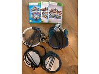 Skylander figures & games bundle (Xbox)