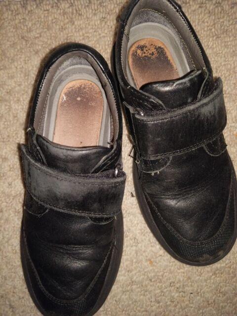 School shoes Geox RIDDOCK BOY Black, 11