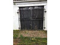 Heavy duty steel gates for sale 2 sets