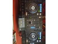 Pioneer XDJ-RX1 All in one DJ System,including a decksaver cover and a pair of Sennheiser headphones