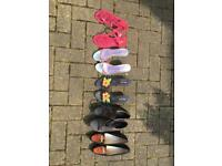 5 pairs of womens shoes