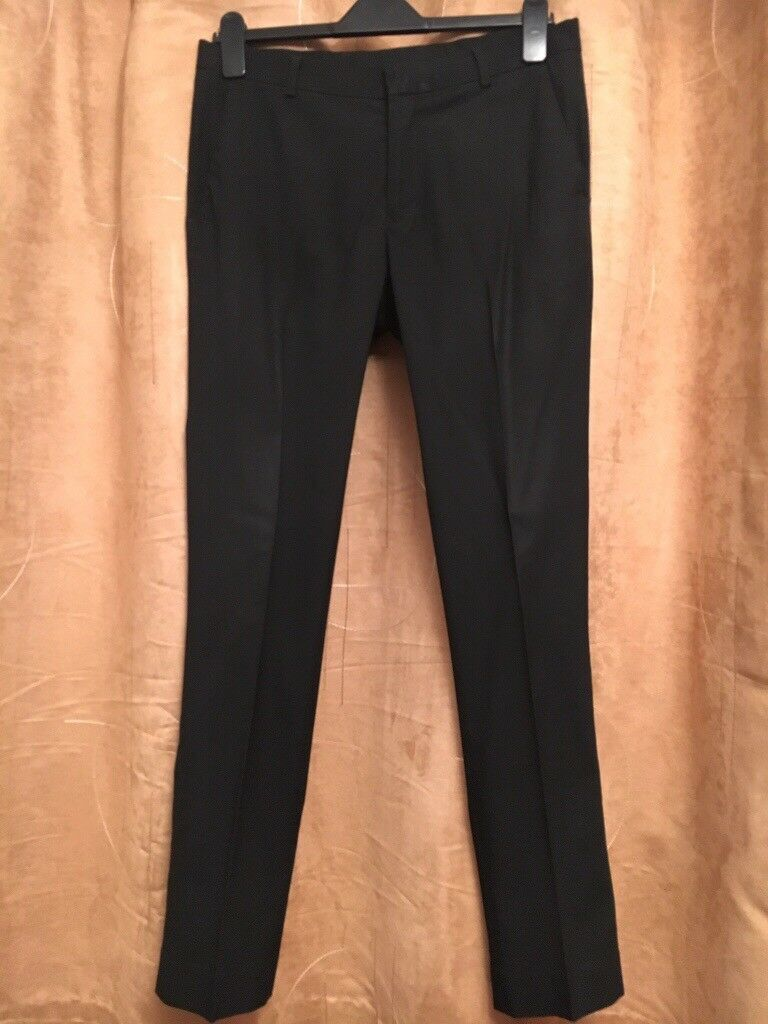 Black School Trousers or mens work trousers