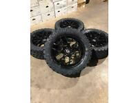 """Brand new set of 20"""" alloy wheels and all terrain tyres Vw Amarok"""