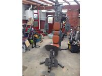 Domyos HG 90 Pro Version NOT Compact RRP£400+ Home Multi Gym VGC