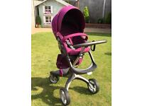 Stokke Xplory pushchair/buggy including car seat adapters