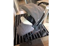 Pushchair Graco Pushcahir and Carrycot