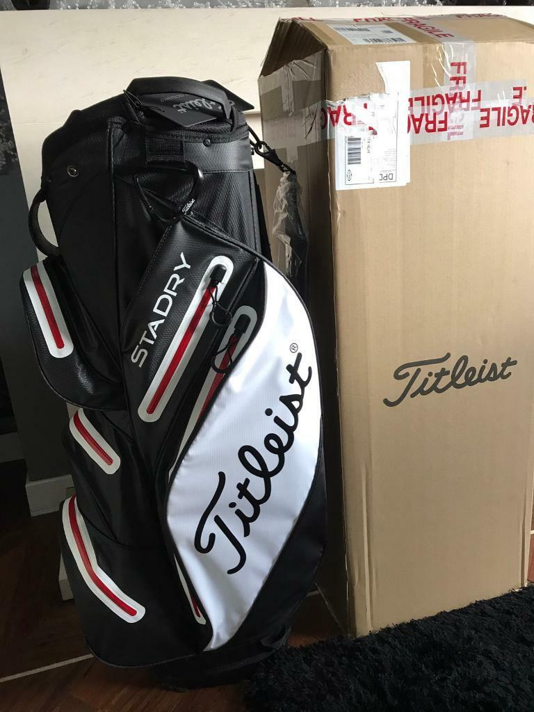2017 Titleist Stadry Golf Cart Bag Brand New In Box In