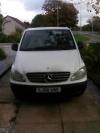 Mercedes vito 2006 sale or swap for a car