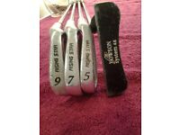 Four Junior Golf Clubs In Mitsushiba Golf Bag In Very Good Condition-Proceeds To Local Group Funds