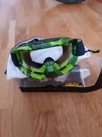 Fox motocross goggles (Youths airspc)