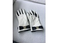 Kate Spade leather gloves
