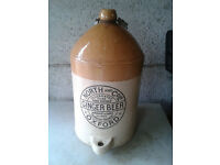 Vintage Ale Jug great condition with clear letters - North & co Ltd Ginger Beer OXFORD