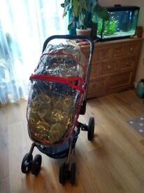 Mothercare spin orb pram