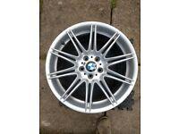 BMW ALLOY WHEEL MV4 225M REAR 255 30 19 R255/30/R19 SPort 335I RIM sport 3 series NO CRACK NO BUCKLE