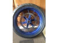 Aprilia rs125 07 front wheel