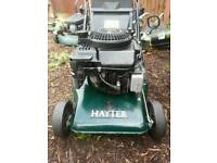 Hayter self propelled rear roller petrol lawnmower