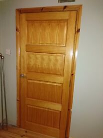 2 internal pine doors