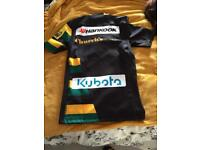 Northampton official rugby shirt
