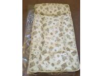 Mamas and papas cream bear changing mat