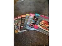 Several Slimming World/Weight Watchers and Sainsbury Magazines