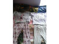 Girls pyjamas sizes 2-3 years and 3-4 years