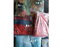 Bag of mixed linens and curtains bargain!