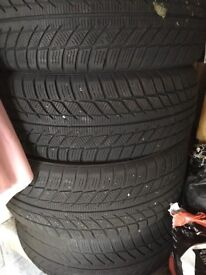 4winter tyres size as per photo
