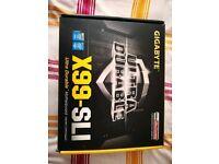 Gigabyte x99 Sli motherboard (upto 4 GPU spaces)