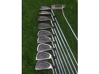 Women's set of Wilson golf clubs