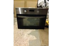 Zanussi intergrated microwave oven
