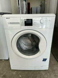 Beko 8kg 1300 rpm Digital A+A Class White Colour Freestanding Washing Machine With Free Delivery 🚚
