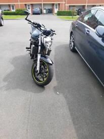 Yamaha FZ6 naked 2006 motorcycle