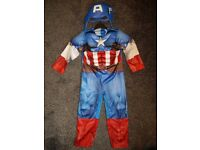 Boys fancy dress captain america