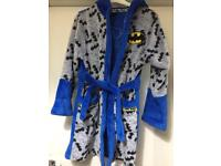 Batman dressing gown age 9 years