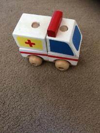Toy ambulance - build it