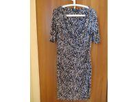 Ralph Lauren Patterned Dress UK 14/16 (US Size 12)