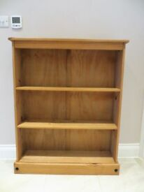 Bookcase, softwood, pine colour