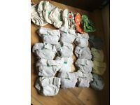 resuable nappies - large bundle B