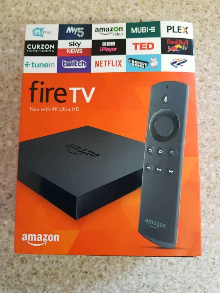 Amazon fire tv 4k ultra hd | in Gosport, Hampshire | Gumtree