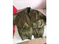 Khaki Jacket for sale.