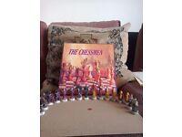 Chessmen - fantasy wizard hand painted set