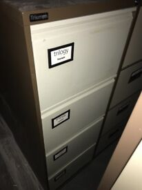 We have many good condition filing cabinets