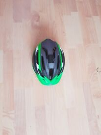 Bell Adult Helmet Crest Green. Great Condition. Go Pro Mount Attached.
