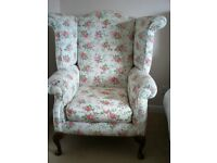 Wing back armchair (Restoration project)